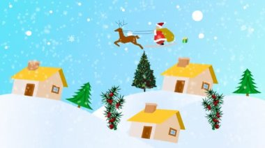 Christmas Animation — Stock Video