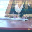 Businesswoman typing — Stock Video #15385943