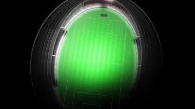 Football Stadium — Stock Video