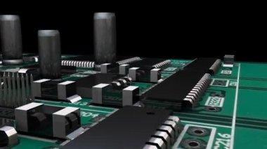 Circuit imprimé en haute définition — Vidéo