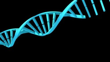 Dna-strang in high-definition 1920 x 1080 — Stockvideo