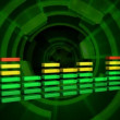 Music Waveform - Stockfoto