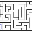 Royalty-Free Stock Vector Image: Animation of a labyrinth