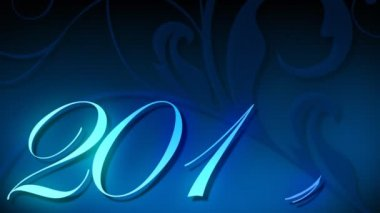 2010 animada texto — Vídeo Stock