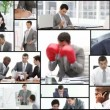 Men working in office — Stock Video #15411083