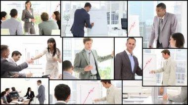 Presentación del negocio — Vídeo de stock