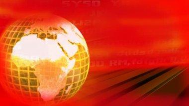 地上世界旋削 — ストックビデオ