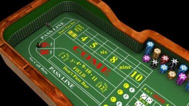 HD Casino animation — Stock Video