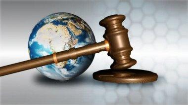 Küresel durgunluk kavramı — Stok video