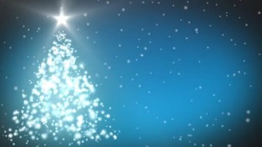 Christmas Tree animation — Video Stock
