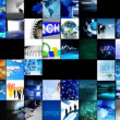 Collage of digital technology — Stock Video