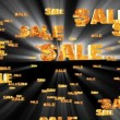 Sale Words Background - Stock Photo