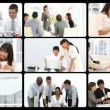Stock Video: Montage presenting concept of women in business