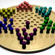 Stock Video: Chinese Checkers