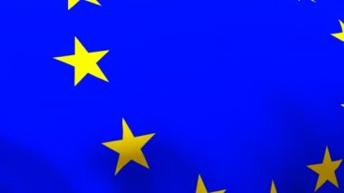 European Union Flag — Stock Video