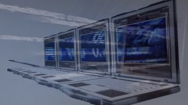 3d 动画介绍新技术的概念 — 图库视频影像