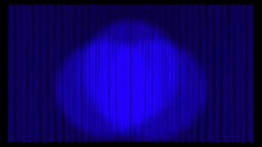 Animated Stage Curtains — Stock Video