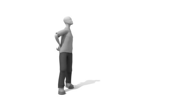 Amorce du compte à rebours film — Vidéo