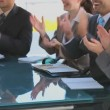 Vídeo de stock: Business applauding