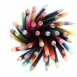 Royalty-Free Stock Vector Image: Color pencils rotating