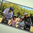 Stock Video: Montage of different families enjoying moments together