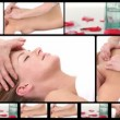 Montage of women relaxing at the spa — Stock Video #15612445