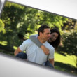 Montage of a romantic couple — Stock Video