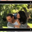 Montage of lovers spending time together — 图库视频影像