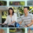 Montage of couples sharing and enjoying different kinds of moments together — Stock Video