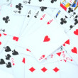 Playing cards rotating - Stock Photo