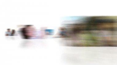 Montage von erfreut paare — Stockvideo