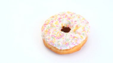 Donut rotating — Stock Video