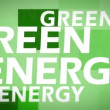 Green energy animation - Stock Photo