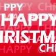 Happy Christmas Animation — Wideo stockowe #19865957