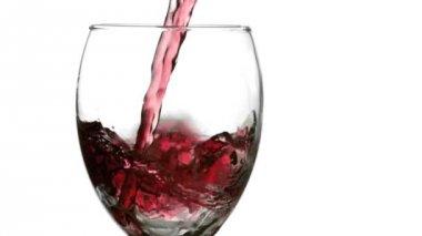Still wine splash — Stock Video