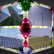 Stock Video: 3D Animation-Cube of renewable Energy