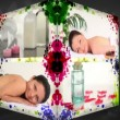 Stock Video: 3D Animation-Cube of Wellness Treatments