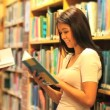 Learning students reading books - Stockfoto