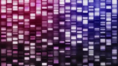 Falling DNA strands — Stock Video