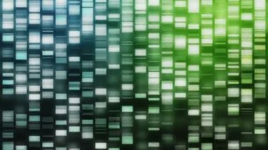 Cascading DNA strands — Stock Video