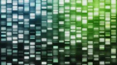 Cascading DNA strands — Stock Video