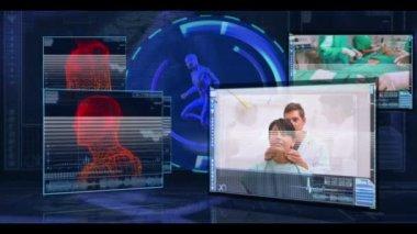 Filmy medyczne lekarzy i lekarzy — Wideo stockowe