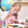 Pupils coloring - Stock Photo