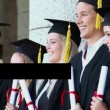 Young graduate people - Stockfoto