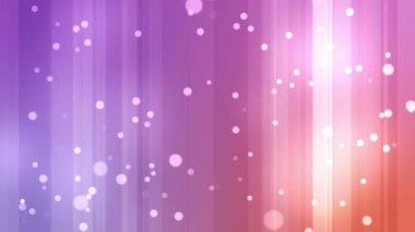 Purple and orange streams of light with shining stars — Stock Video