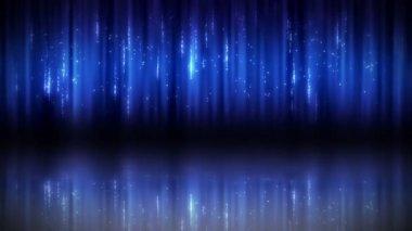 Set of light in blue — Stock Video