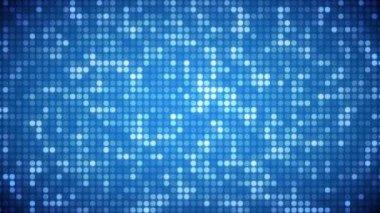 Video of light blue dots — Stock Video