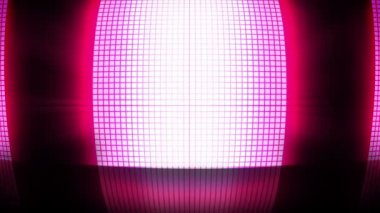 Pink disco lights — Stockvideo