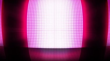 Pink disco lights — Wideo stockowe