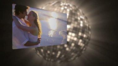 Videor av par under solnedgången — Stockvideo